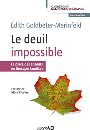 Books By Edith Goldbeter Merinfeld Mony Elkaim_le Deuil Impossible ...