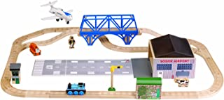 Learning Curve Thomas and Friends Wooden Railway - Jeremy at The Airfield Set
