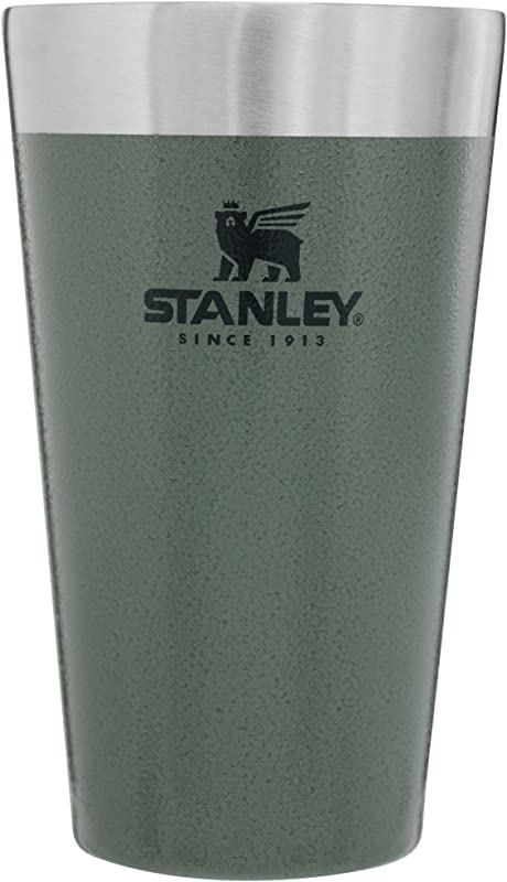 Stanley Adventure 16 Oz Vacuum Insulated Stacking Beer Pint Glass