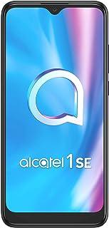 "Alcatel 1SE Smartphone 6.22"", 4G, 32 GB ROM + 3 GB RAM, Tripla Fotocamera, 4000mah, Dual Sim, Power Grey, ITA"