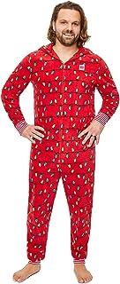 Jammin Jammies Family Merry Litmas Matching Pajama - Men's Onesie, Size M