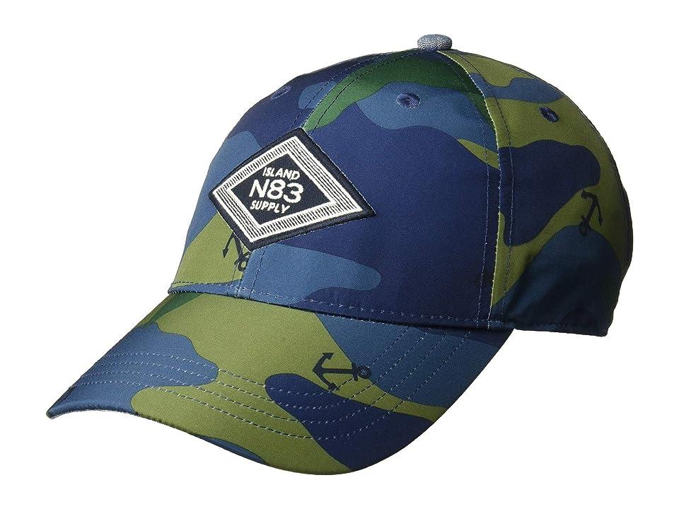 Nautica Camo Anchor Printed Cap (Ensign Blue) Baseball Caps