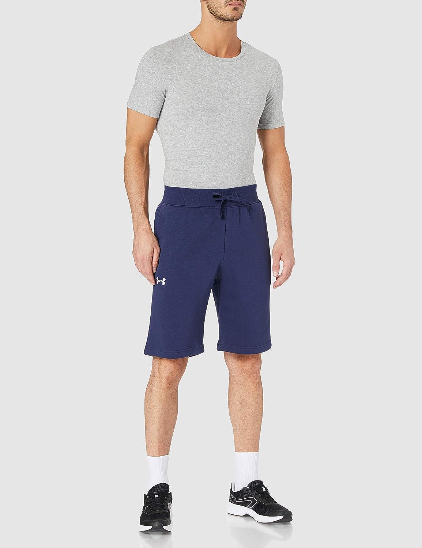 Under Armour Herren sportliche Shorts aus Baumwolle komfortable Sporthose Ua Rival Cotton Short