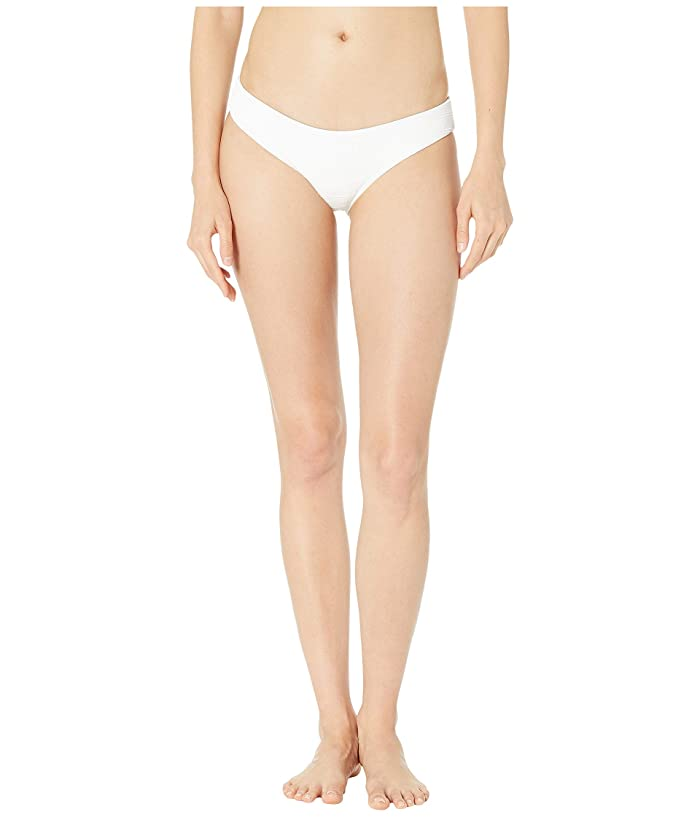 L*Space Clear Water Texture Sandy Bottoms (White) Women
