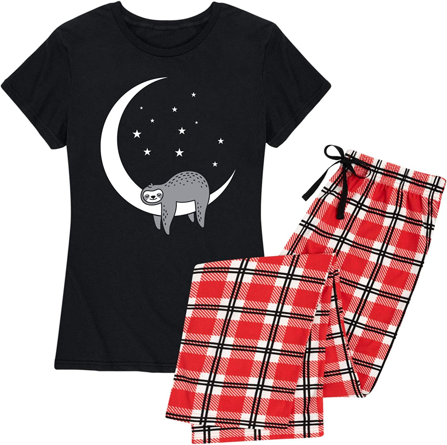 Sleeping Moon Special price Cheap mail order specialty store Sloth - Set Pajama Women's