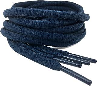 2Pair Oval Shoes laces 42 Colors Half Round 1/4