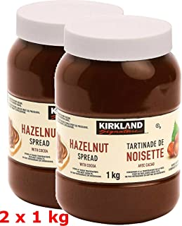 Kirkland Signature Hazelnut Spread with Cocoa, 2 Count, 4.4 Pound