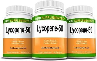 Bundle Combo for 3 Total Bottles of Lycopene 50mg KRK Supplements