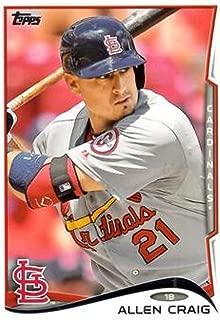 2014 Topps Series 2 Baseball #481 Allen Craig St. Louis Cardinals Official MLB Trading Card