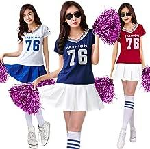 monoii チアリーダー 衣装 チアガール コスプレ ハロウィン コスプレ チア コスチューム ユニフォーム b970-2