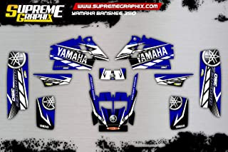 Kit Adhesivos Mate Yamaha Banshee 350 ADESIVI Sticker KLEBER AUFKLEBER