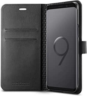 Spigen Wallet S Designed for Samsung Galaxy S9 Case (2018) - Black