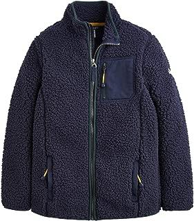 Joules Kids Mens Sherpa Zip Through Fleece (Toddler/Little Kids/Big Kids)
