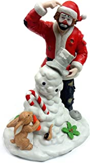 Spirit of Christmas IX, Emmett Kelly, Jr Limited Edition Collectible Porcelain Hobo Clown Figurine