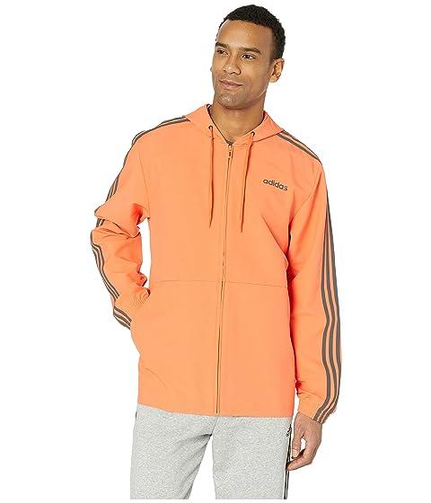 c5783f102e Shop Adidas Originals Essentials 3-Stripe Woven Hoodie