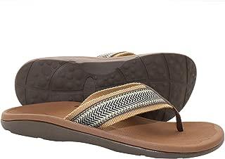 Plantar Fasciitis Feet Sandal Flip Flops with Arch Support Men's Orthotic Flip Sandals – Summer Essential Sandals Outdoor & Indoor