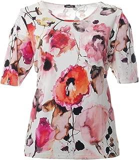 That`s Me Halbarm T-Shirt Damen mit buntem Blumen-Muster große Größen