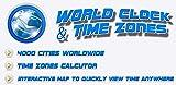 Mejor Reloj Mundial y Zonas Horarias FREE