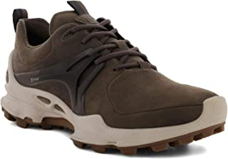 حذاء المشي المقاوم للماء Biom C Trail Sneak Hydromax للرجال من ايكو ، الطين الداكن Yak Nubuck