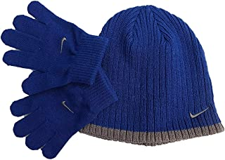 Nike Boy`s Knit Beanie & Gloves Set