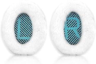 Krone Kalpasmos - Almohadillas de repuesto para auriculares Bose QC35 ii QC25 QC2 QC15 Ae2 Ae2i Ae2w SoundTrue y SoundLink (sobre la oreja)