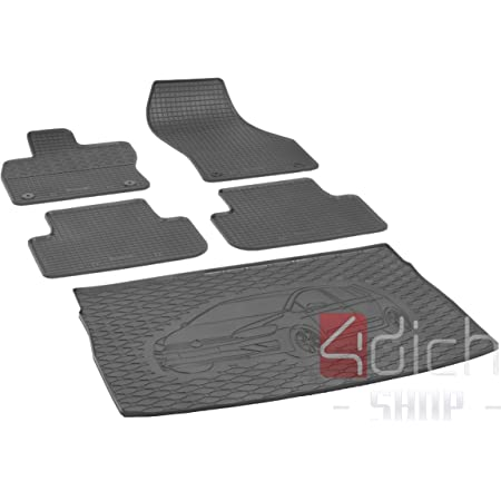 Just Carpets Perfect Fit Rubber Floor Mats For Your Golf Sports Van Design All Year Of Manufacture 2014 2020 Set Of 4 Material Rubber Non Slip And Weatherproof Auto