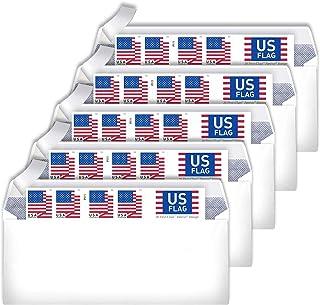 10# Business Envelopes Additional 2018 Postage Stamps (5 Booklet - 100 Stamps)