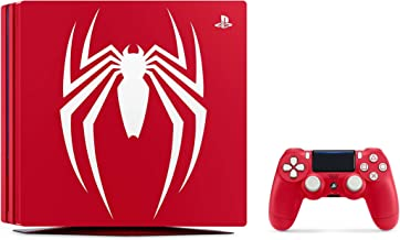 Playstation 4 Pro 2TB SSD Limited Edition Console - Marvel's Spider-Man Bundle Enhanced with Fast Solid State Drive