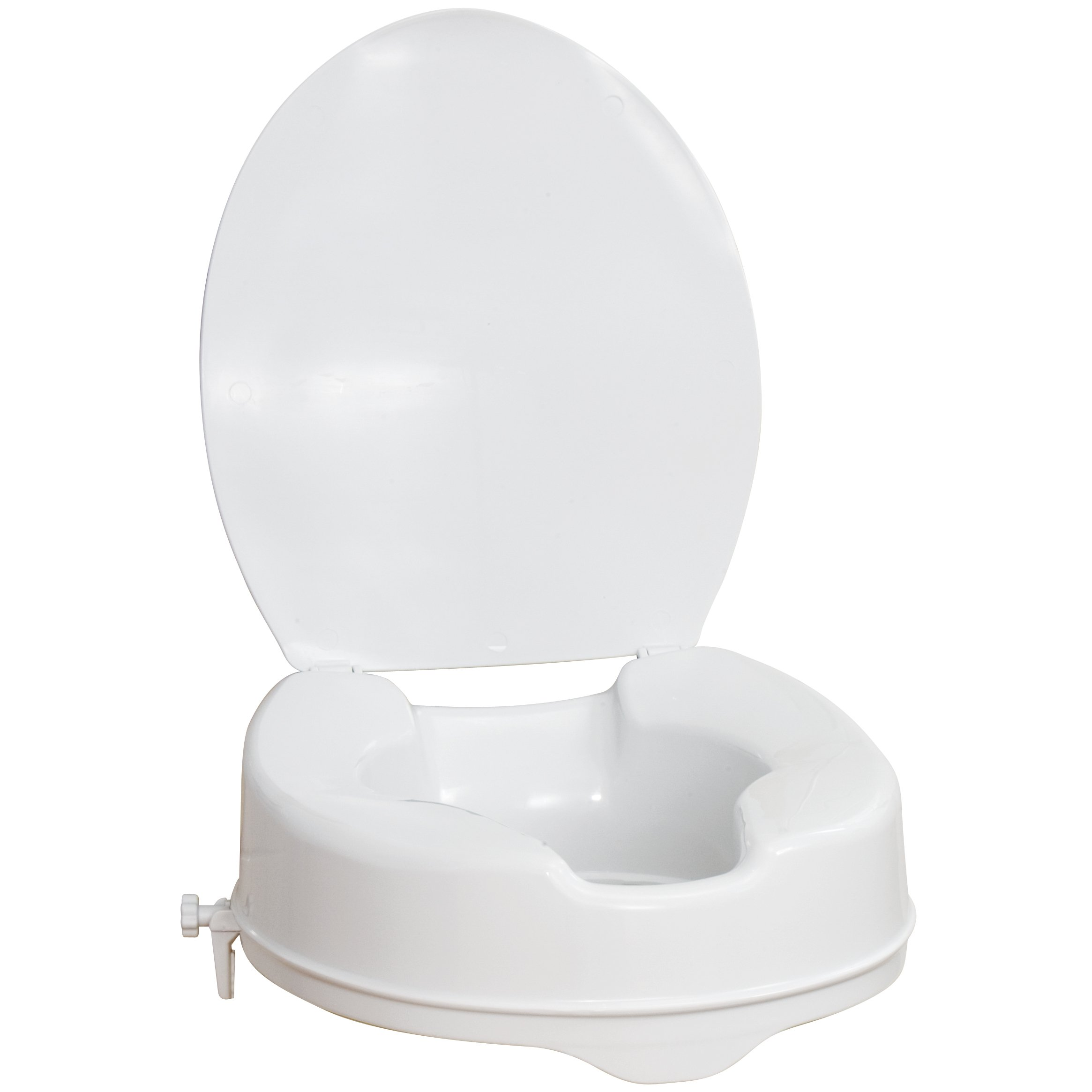 AquaSense Raised Toilet White 4 Inches