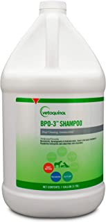 Vetoquinol BPO-3 Shampoo for Dogs, Cats & Horses (3% Benzoyl Peroxide) - Deep Cleaning, Medicated Shampoo Opens & Flushes Hair Follicles - Degreases Oily Coats - Soothes Red, Flaky, Itchy Skin