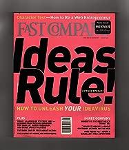Fast Company Magazine #37, August, 2000. National Magazine Award Winner. Web Entrepreneurship; Ideas Virus; Richard Branson; Tom Brokaw; Karen Nussbaum; Dark Side of Free Agent Nation; Weird Job Interviews ; Michael Furdyk; Jennifer Corriero; Patagon