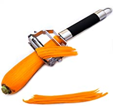 Deiss PRO Dual Julienne Peeler & Vegetable Peeler - Non-slip Comfortable Handle - Amazing Tool for Making Delicious Salads...