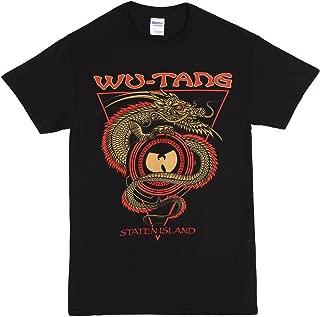 Staten Island Dragon T-Shirt - Black (Large) …