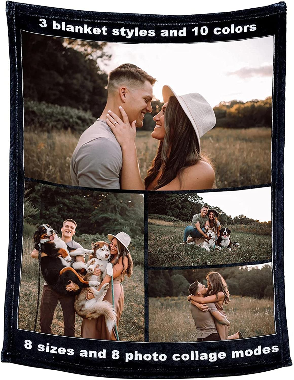 Customized Blanket Inexpensive Very popular Personalized Throw Custom Blankets Soft Super