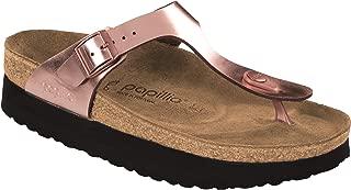 Papillio Women's Gizeh Platform Sandal, Copper Leather, 39 M EU