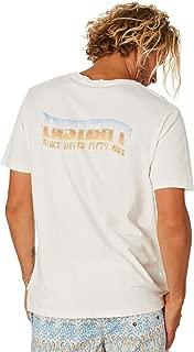 Insight Men's Brotown Mens Ss Tee Short Sleeve Cotton White