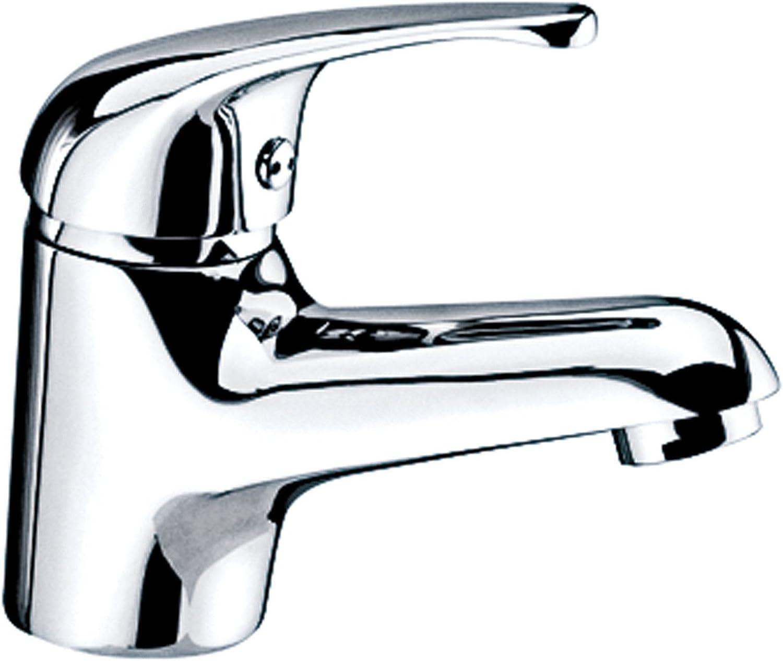 SHLONG Becken Wasserhahn Hochwertiges Kupfer Einhand-Einloch-Mischwasserbecken Wasserhahn