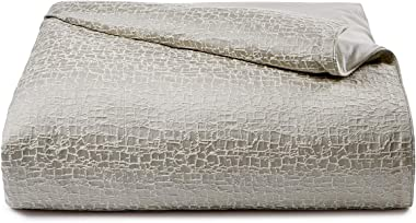 Hotel Collection Birch Reversible Silver Full/Queen Comforter Silver