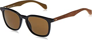 Hugo Boss Unisex Sunglasses, Black Brown, 0843/S EC 52