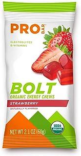 Probar - Bolt Organic Energy Chews, Non-GMO, Gluten-Free, USDA Certified Organic, Healthy, Natural Energy, Fast Fuel Gummi...