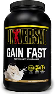 Universal Nutrition System Gain Fast 3100 Vanilla Shake 5.1-Pound