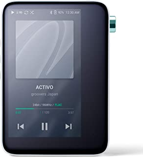 ACTIVO CT10 High Resolution Portable Music Player: Small, Stylish Design, MP3/Lossless Formats, Wi-Fi, Music Streaming App...