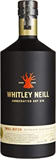 Whitley Neill Original Handcrafted Dry Gin 1l - 43%