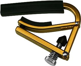 SHUBB シャブ カポタスト アコースティックギター用 ゴールド 軽量アルミ製 L-1 Gold