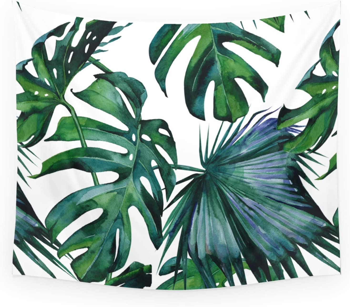 Society6 Tropical Palm Leaves Classic Ii on Luxe Simple Wall Max 81% Atlanta Mall OFF by