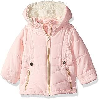 Baby Girls Satin Bubble Jacket