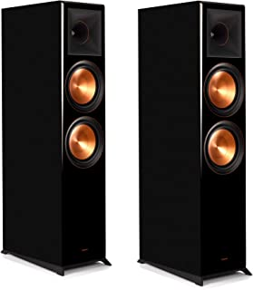 Klipsch Reference Premiere RP-8000F Floorstanding Speaker with Tractrix Horn-Loading Technology (Piano Black (Pair))