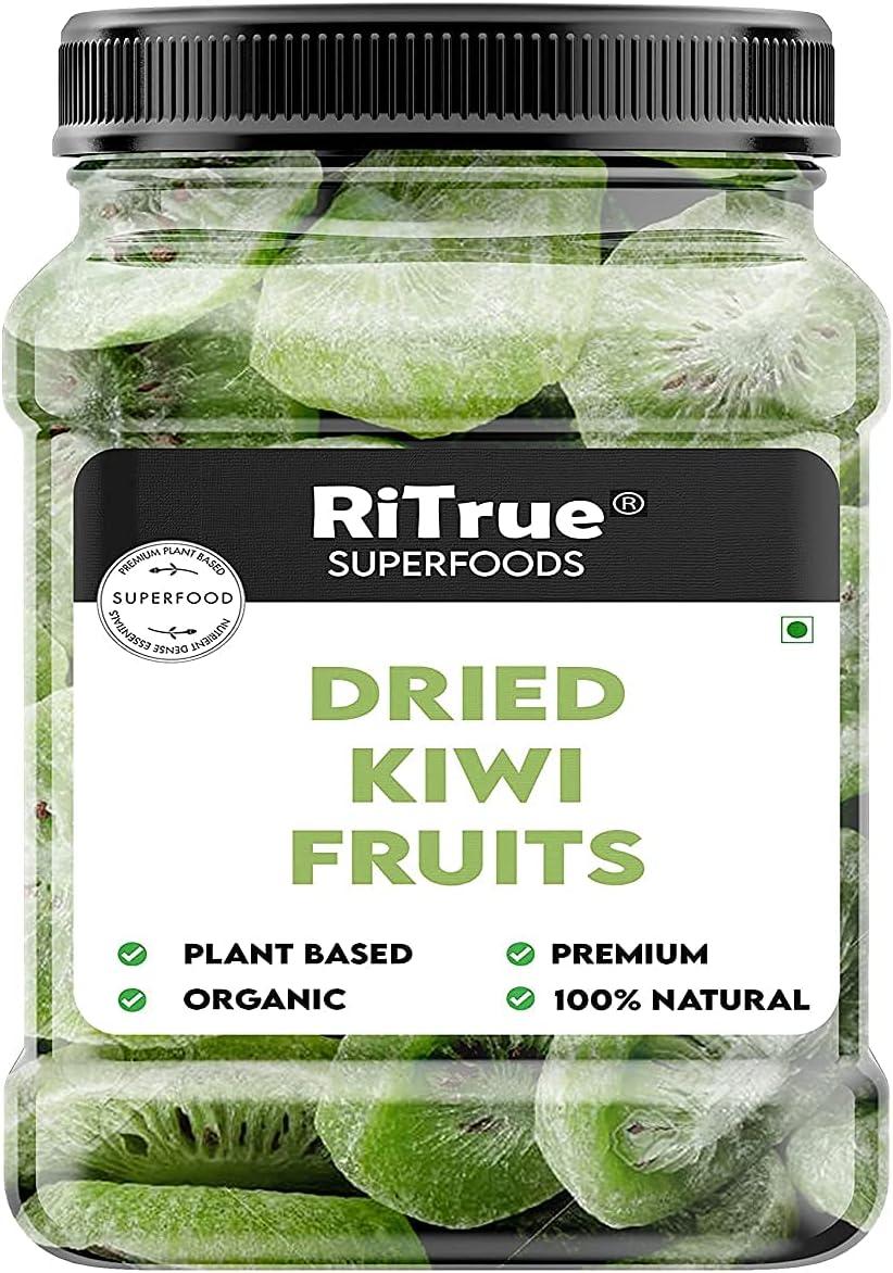 Bluenile RiTrue - Dried Kiwi Fruit Max 57% OFF Less Sugar 200 Super intense SALE Slices Gm
