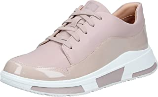 FITFLOP Womens Freya Leather Sneakers Brown Size: 7