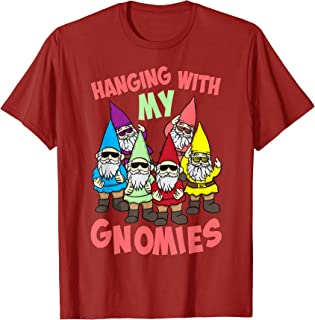 Hanging With My Gnomies Shirt   Gnome Christmas Lovers Gift